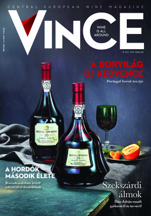 Vince magazine cover 2019 febr